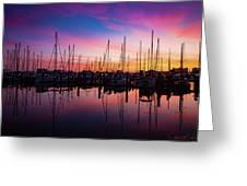 Dreamy Marina Greeting Card