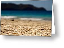 Dreamy Shell Beach Greeting Card