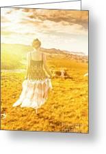 Dreamy Summer Fields Greeting Card