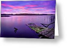 Dreamy Sunrise Greeting Card