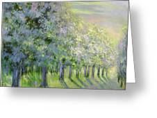 Dreamy Trees Greeting Card