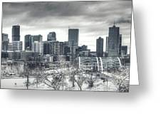 Dreary Denver Greeting Card