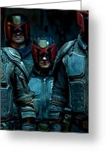 Dredd Karl Urban Donal Gleeson Olivia Thirlby 96764 750x1334 Greeting Card