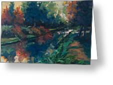 Drente Canal Greeting Card