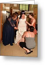 Dress Help Greeting Card