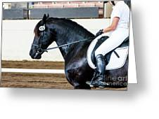 Dressage Horse Show Greeting Card