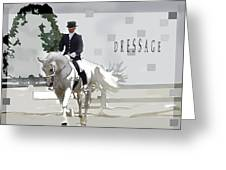 Dressage Greeting Card
