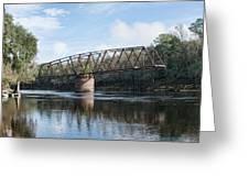 Drew Bridge Greeting Card