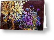 Dried Flowers  Greeting Card