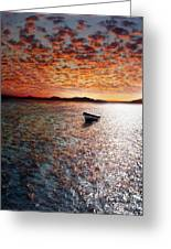 Drift Away Greeting Card