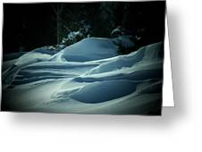 Drifts Greeting Card
