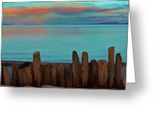 Driftwood Storm Rampart Greeting Card