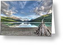 Driftwood Teepee Greeting Card