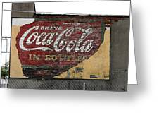 Drink Coca Cola In Bottles 2 Greeting Card