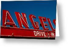 Drive In- California  Greeting Card