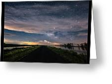 Drive Into The Wild Greeting Card
