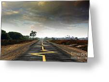 Drive Safely Greeting Card by Carlos Caetano