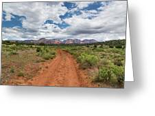Drive To Loy Canyon, Sedona, Arizona Greeting Card