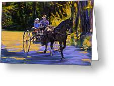 Driver Training Greeting Card by Ken Fiery
