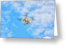 Drone On The Air Greeting Card