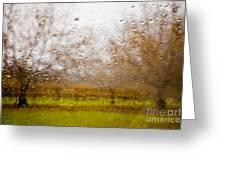 Droplets I Greeting Card