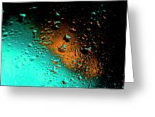 Droplets Vi Greeting Card