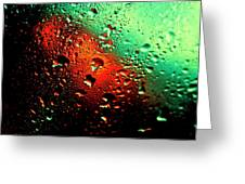 Droplets Vii Greeting Card