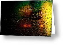 Droplets Xi Greeting Card
