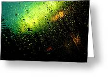 Droplets Xii Greeting Card