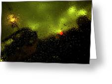 Droplets Xvi Greeting Card