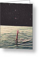 Drowned In Space Greeting Card