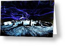 Druid's Circle, Night Greeting Card