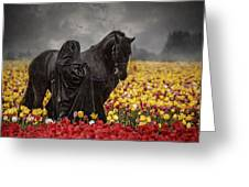 Druids In The Fields Greeting Card