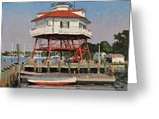 Drum Point Lighthouse Greeting Card