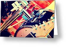 Drum Set Greeting Card