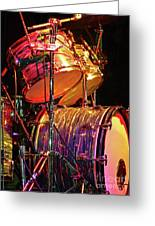 Drum Set Greeting Card
