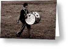 Drummer Boy Greeting Card