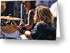 Drummer II Greeting Card