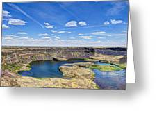 Dry Falls Overlook Greeting Card