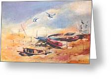 Dry Shore Greeting Card