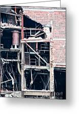 Dte Marysville Michigan West Wall Greeting Card