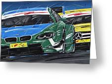 Dtm Farfus Bmw Greeting Card