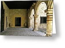 Dual Areches And Urns Greeting Card