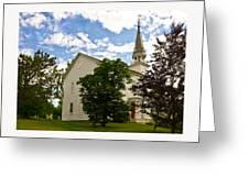 Duanesburg, Ny, Church Greeting Card