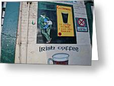 Dublin Street Art Greeting Card