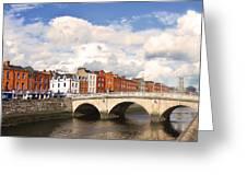 Dublin's Fairytales Around  River Liffey 3 Greeting Card