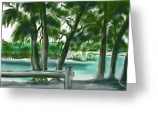 Dubois Park Lagoon Greeting Card