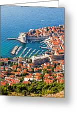 Dubrovnik From Above Greeting Card