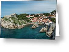 Dubrovnik Panorama Greeting Card