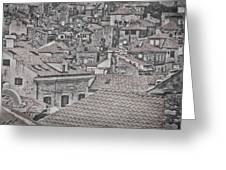 Dubrovnik Rooftops #5 Greeting Card